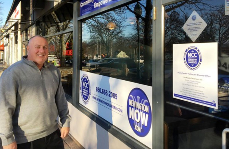 Pete Forcellina brings own vision to Newington Chamber of Commerce