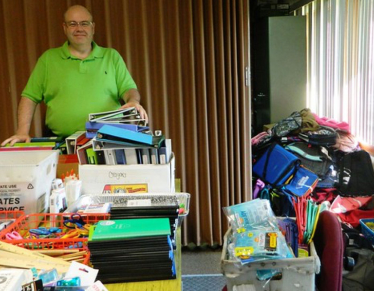 Supplies for hundreds collected in Back to School drive