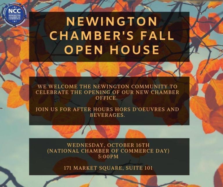 Newington Chamber's Fall Open House