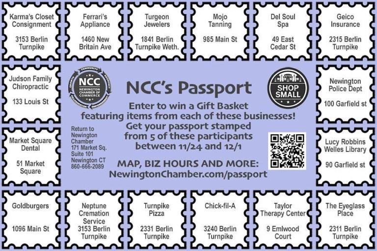 NCC's Passport Winners Announced