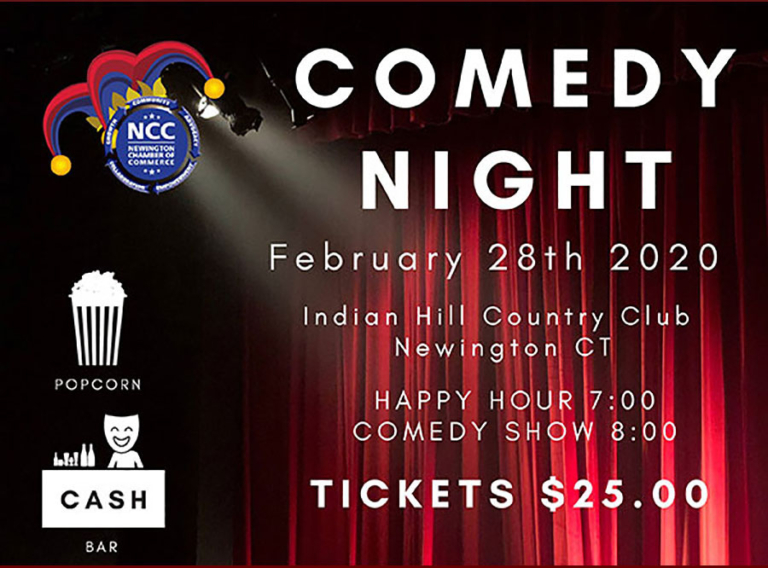 NCC's Comedy Night is February 28th