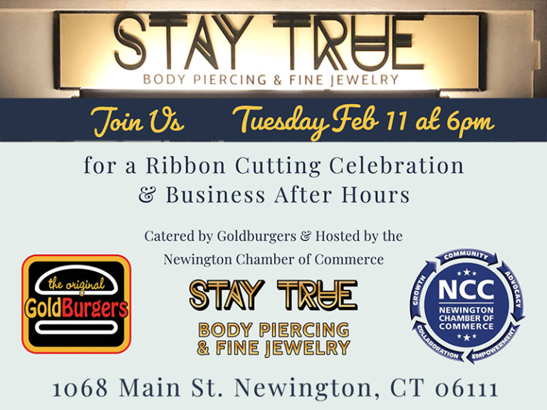 Stay True Body Piercing – Ribbon Cutting & Business After Hours