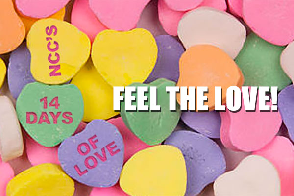 NCC's 14 Days Of Love!