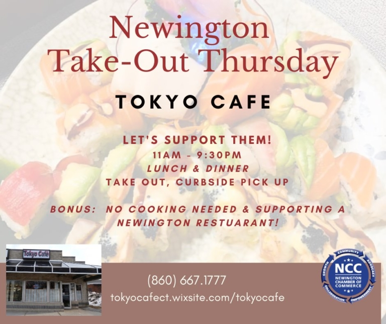 Take-Out Thursday at Tokyo Cafe