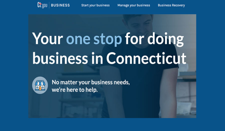 CT's New Website to help you start and grow your business