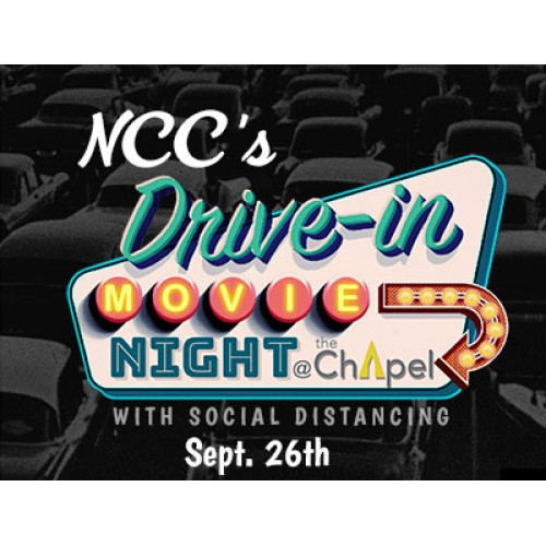 NCC's Drive In Movie Night – Aladdin on September 26
