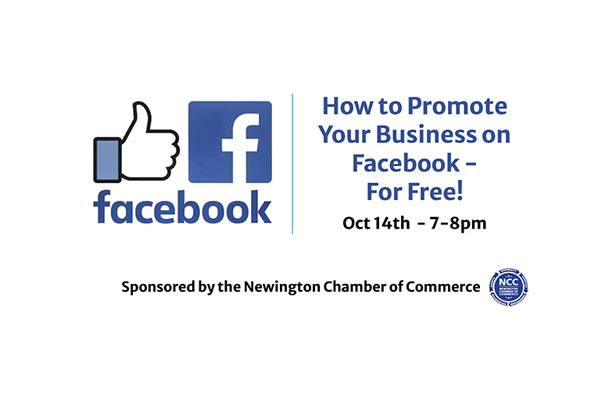 FREE EVENT: How to promote your business on Facebook