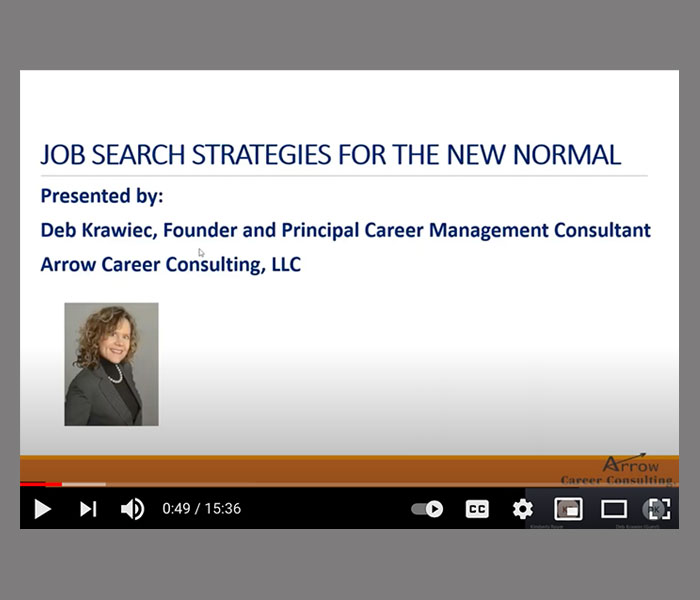 Job Search Strategies for the New Normal