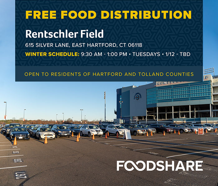 Foodshare's Winter Schedule and Hours at Rentschler Field