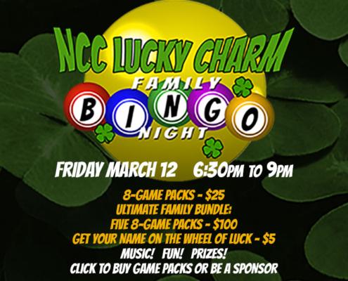 NCC Lucky Charm Family Bingo Night